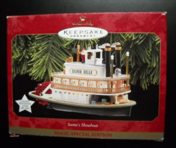 Hallmark Keepsake Christmas Ornament 1997 Santa's Showboat Sound Lights ... - $13.99