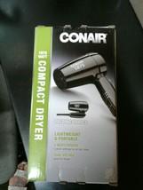 (New) Conair 1875 Watt Compact Folding Handle Hair Dryer - $19.99