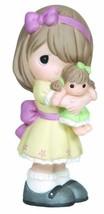 Precious Moments Figurine, Girl Hugging Doll, 133001 - $27.02
