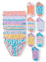 Wonder Nation Girls' Bikini Panties and Socks Set 14-Pack Size 4 - $39.97