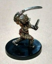Dungeons & Dragons Miniatures Brass Samurai #15 D&D Mini Collectible Wizards! - $9.29