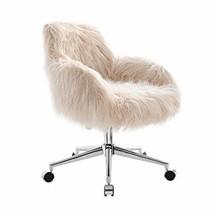 Linon Fiona Chrome Base Office Chair - $213.75