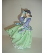 Royal Doulton Top of O The Hill Lady Figurine - $46.79