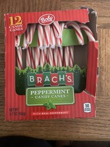 Brachs Bobs Peppermint Candy Canes 12 Count - $6.81
