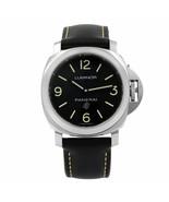 Panerai Luminor Base Logo Steel Black Dial Hand-wind Mens Watch PAM00773 - $3,999.00