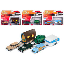 Tow & Go Series 2, Set A of 3 Cars Johnny Lightning 50 Years 1/64 Diecas... - $73.36