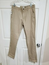$60 NWT GAP Skinny Fit Men's 29 (32x30) Beige Stretch Cotton khaki Chino Pants - $14.99