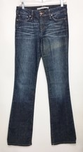 Joe's Jeans Visionaire Womens 26 Blue Jeans Denim 30 x 35 Light Distress - $47.53
