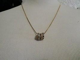 Vintage Stackable Eternity Charm Pendant Necklace - $20.00