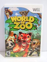 World of Zoo (Nintendo Wii, 2009) Complete! - $9.95