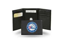 NBA Philadelphia 76ers Embroidered Tri-Fold / Wallet - $37.23