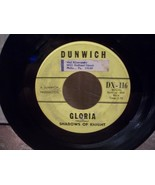 "DUNWICH LABEL ""GLORIA"" SHADOWS of KNIGHT 45rpm EX RECORD - $3.00"