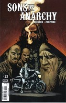 Sons of Anarchy TV Series Comic Book #13, Boom 2014 NEW UNREAD - $4.99