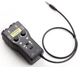 Saramonic SmartRig+ 2-Ch XLR/3.5mm Microphone Audio Mixer - $118.79