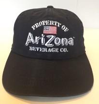 Property Of Arizona Beverage Co Cap Hat Blue Adult Adjustable Cotton - $10.40