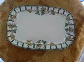 Lenox Summer terrace 9 3/8 inch relish tray 1 available - $16.19