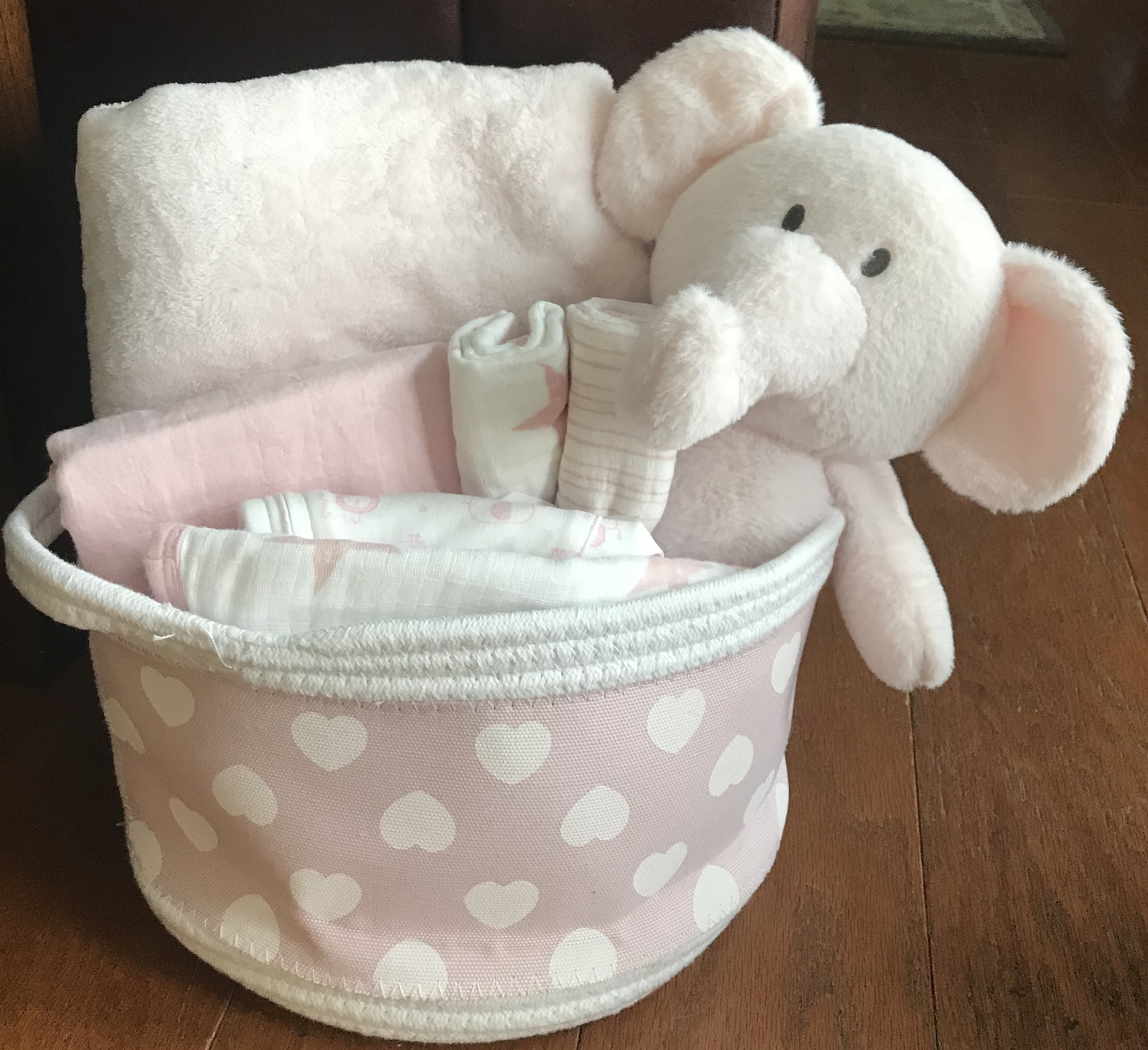 Primary image for Maisie Elephant Baby Gift Basket