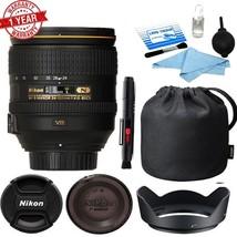Nikon AF-S NIKKOR 24-120mm f/4G ED VR Lens (White Box) with Cleaning Kit - $622.71
