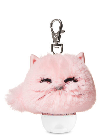 Primary image for Bath & Body Works Cat Pom Pocketbac Hand Sanitizer Holder