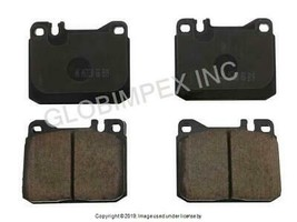 Mercedes r107 w116 (1973-1991) FRONT Brake Pad Set AKEBONO EURO + WARRANTY - $90.75