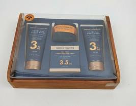 Guise Etiquette Charcoal Tea tree Bath Body Wash Soap Shave Balm Towel G... - $36.95