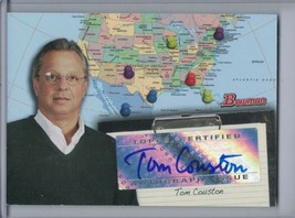 Tom Couston 2008 Bowman Scouts Auto/Autograph #SC-TCU (Jim Thome) E2472 - $1.76