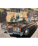 Car Print Ad 1973 Pontiac Catalina Sedan Brown Car - $9.97