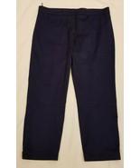 PRADA Pants Sz-EU46  Navy 97% Cotton  - $49.95