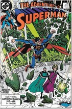 The Adventures of Superman Comic Book #461 DC Comics 1989 NEAR MINT UNREAD - $2.99