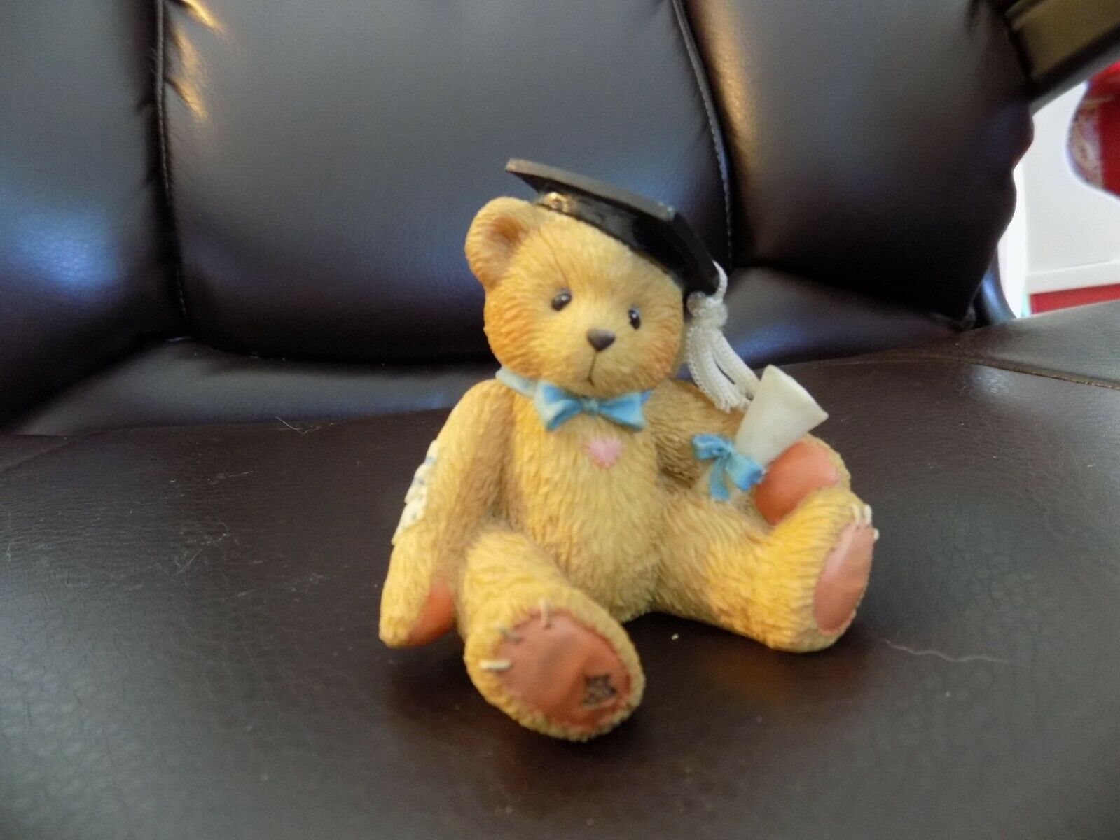 Cherished Teddies BOY Graduation Bear Figure The BEST is Yet To Come 127949 NWOB - $31.50