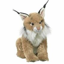 Wildlife Artists Lynx Plush Stuffed Animal Soft Toy - $15.65