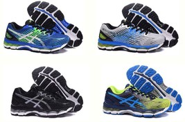 2019 Hot Mens Running Shoes asics Gel Nimbus 17 Trainers Running Sports ... - $68.00