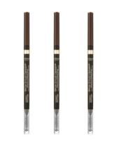 3 Pack L'Oreal Brow Stylist Definer Ultra Fine Shaping Pencil 390 Dark B... - $16.99