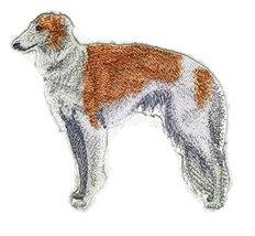 Amazing Custom Dog Portraits [Borzoi (Russian Wolfhound) ] Embroidery Ir... - $9.89
