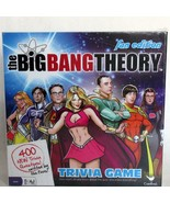 Big Bang Theory Trivia Game Fan Edition Complete New Sealed Warner Brothers - $14.35