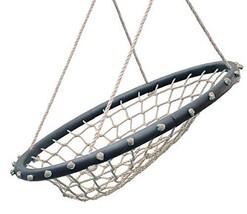 "Swinging Monkey Products Hammock Lounge Chair 32"" Spider Web Swing, Ligh... - $77.78"