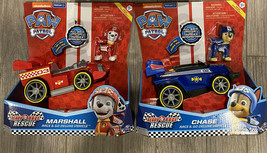 Paw Patrol Race & Go Deluxe Vehicle Chase & Marshall - $24.99