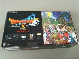 Nintendo Wii Console Dragon Quest X Pack RVL-S-KABR Game Japan Rare Boxed - $219.99
