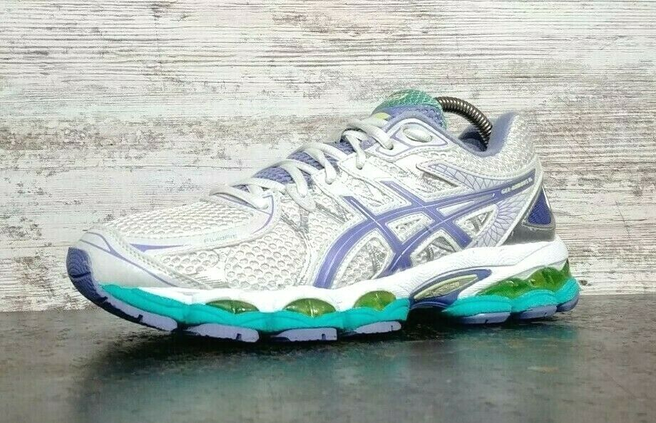 Womens Asics Gel Nimbus 16 Running Shoes SZ 8.5 40 B Used Sneakers Trainers