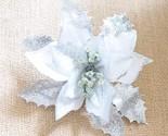 Den silver exquisite artificial christmas flowers xmas tree wreaths decor ornament thumb155 crop