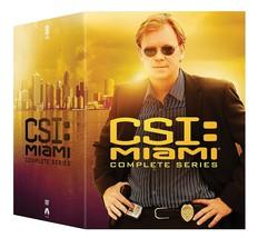 CSI Miami Complete Series Seasons 1 2 3 4 5 6 7 8 9 10 New DVD Box Set 1-10 - $99.00