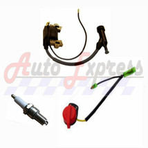 Honda GX200 6.5 HP Ignition Coil, Spark Plug, On/Off Switch for 6.5 hp E... - $14.85
