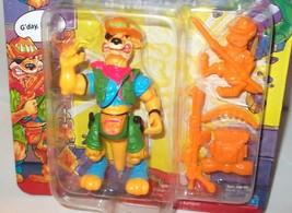 ✰✰ vintage Ninja Turtles TMNT Playmates WALKABOUT 1991 figure ✰✰ c8.5 DI... - $45.99