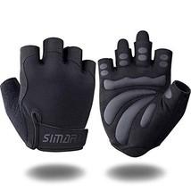 SIMARI Workout Gloves for Women Men,Training Gloves with (Medium Black 905) - $23.57