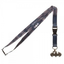 Batman Texture Suit Up Dc Comics ID Badge Holder Keychain Lanyard - $12.00