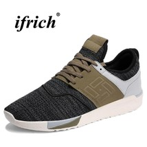 Rubber Man Summer Shoes Spring Designer Sneakers Running Trainers Black Gray Man rx4gnrOwvq