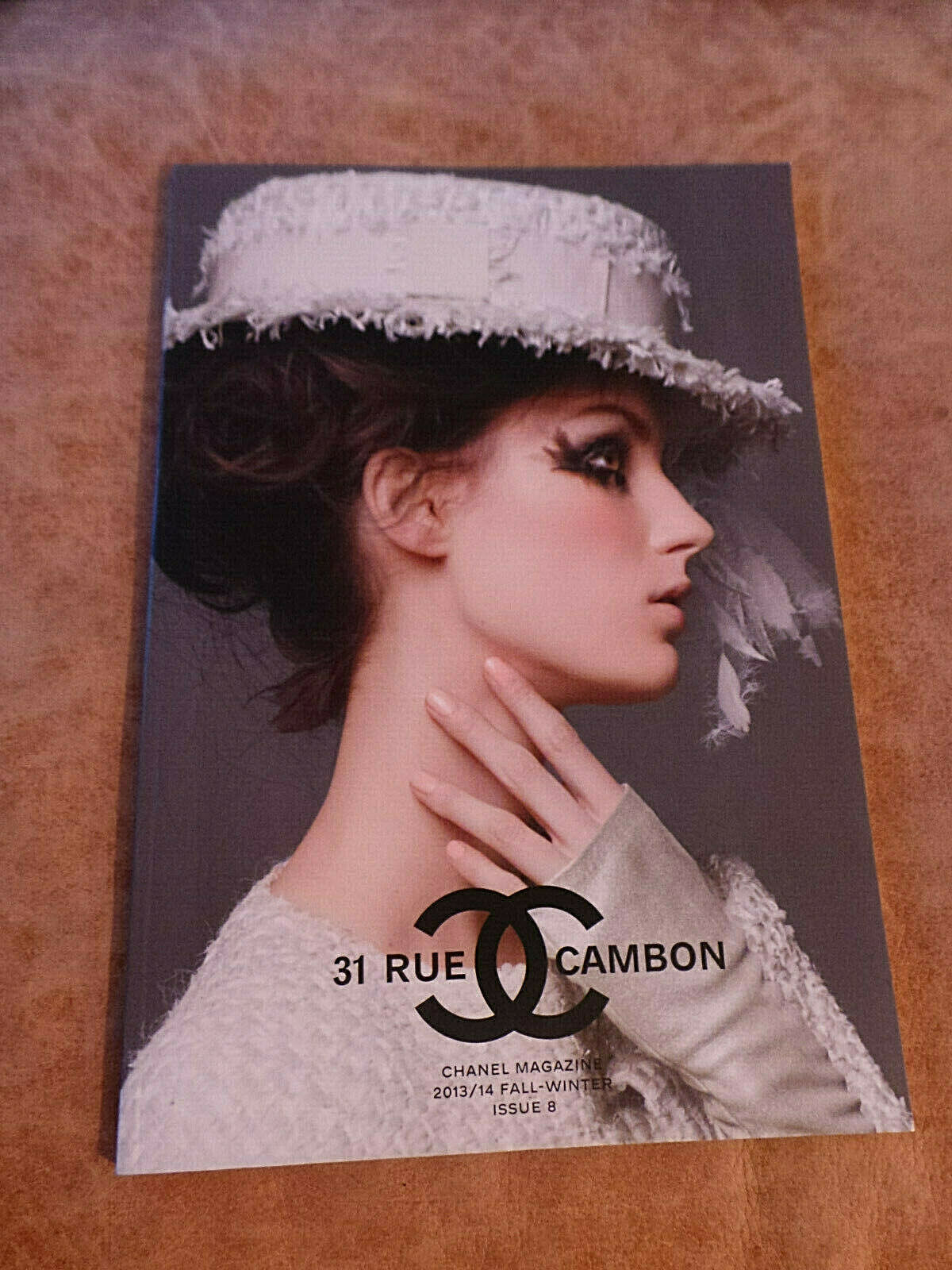 Primary image for Chanel 31 Rue Cambon Fashion Catalog 8 Karl Lagerfeld Photos; Chanel 100th 2013