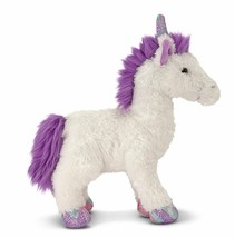 Melissa & Doug  Misty White UNICORN Plush  Stuffed Animal Toy Mythical H... - $12.99