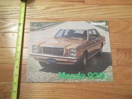 Mazda 929L ( not in English) Car auto Dealer showroom Sales Brochure - $9.99
