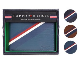 Tommy Hilfiger Men's Premium Leather Credit Card ID Wallet Passcase 31TL130012